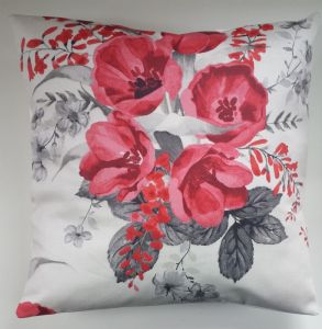 Cushion Cover in Next Red Tulip